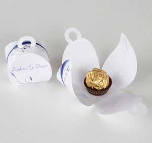 Einmalige Gastgeschenkverpackungen für Ihre Hochzeitstafel